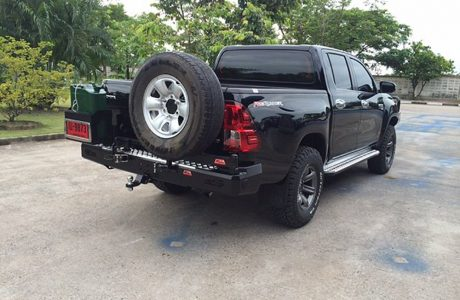 Rear Bar jerry 16 Hilux