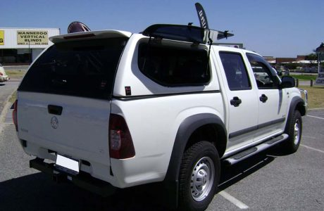 Holden Colorado & 4x4 Canopies Perth | Sports Range 4x4