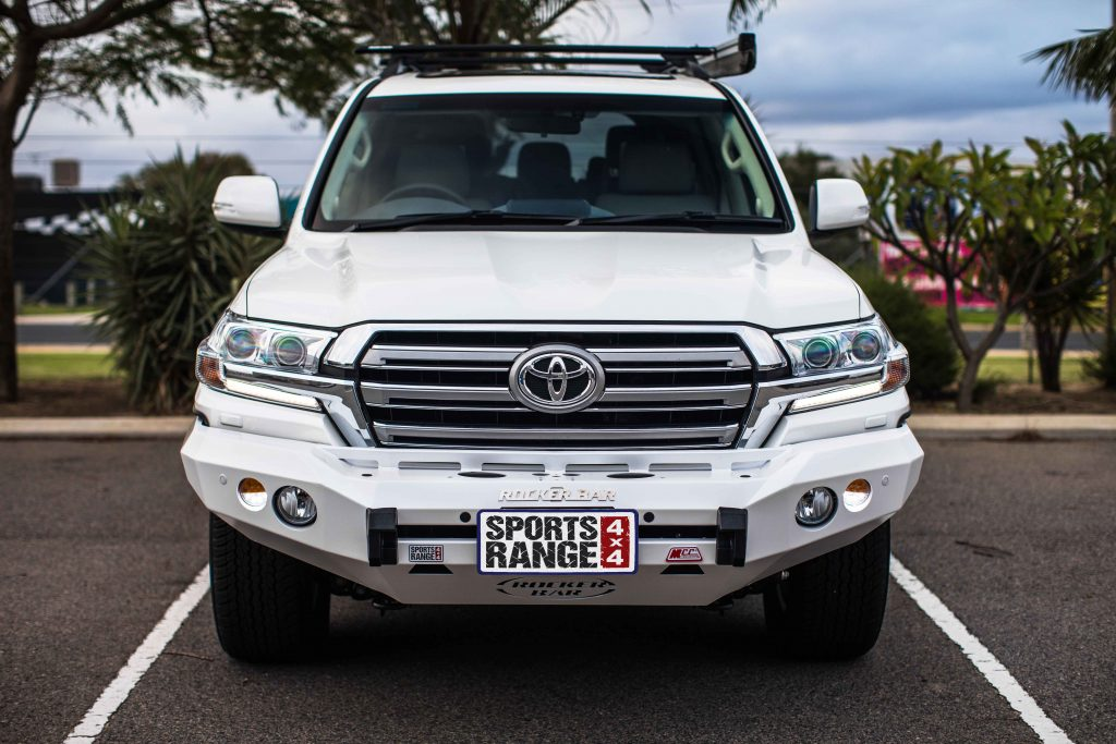 Sports Range 4x4 License Plate Logo